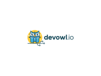 Developing Geek Owl logo for devowl.io