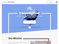 Landing page design WIP