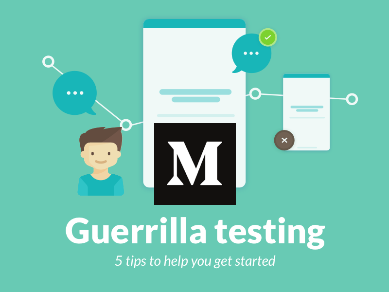 Guerrilla Testing - Article feedback user mobile guerilla testing ux