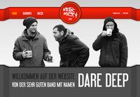 Dare Deep Bandwebsite