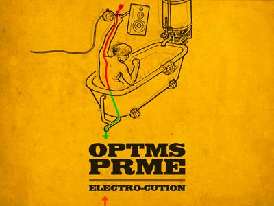 Album-Cover OPTMS PRME illustration cover artwork record album optms prme