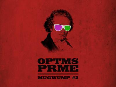 Mixtape-Cover OPTMS PRME (Mugwump #2) illustration cover artwork record album mixtape optms prme