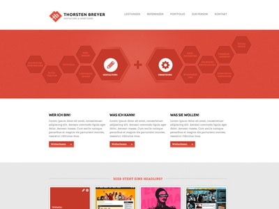 New Website in progress website layout webdesign landing page draft identity relaunch freelancer designer portfolio