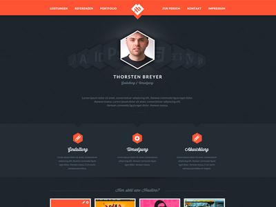 New Website in progress V2 website layout webdesign landing page draft identity relaunch freelancer designer portfolio