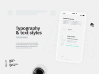 Typography  ·  Orient Design System