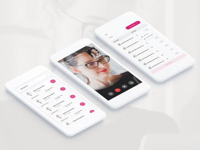 Clinic video consultation website doctor ui ux website clinic health consultation medical platform web design minimal business layout video call booking