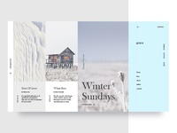 Winter Sunday UI