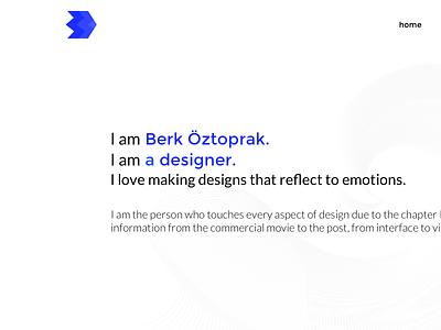 Personal Website ui design design ui website personal