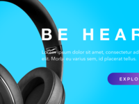 Dr. Dre Homepage Re-Design