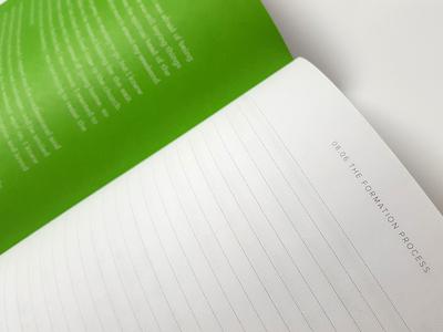 Welcome Folio Detail christian catholic typography graphic design folio book design