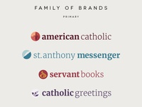 Franciscan Media Primary Brand Family