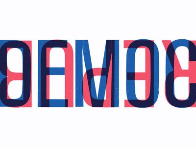 House Divided 1-Democrat Republican dialogue republican democrat prints red white and blue simple pronouns united states political politics screenprints
