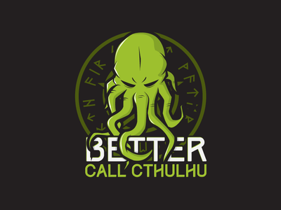 Cthulhu  vector cthulhu logo