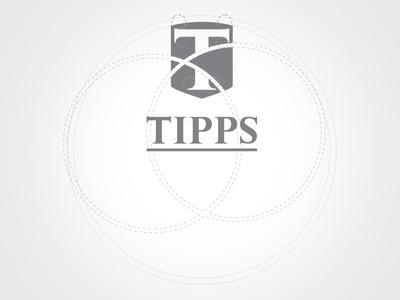 Tipps Logo logo branding shiled t