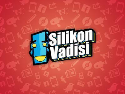 Silikon Vadisi Logo vector logo robot retro