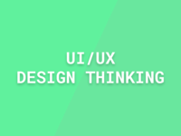 UI For Design / UX For Thinking
