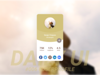 User Profile Daily UI #006