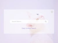Daily UI #022 Search