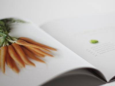 Choux de Bruxelles editorial brochure print design