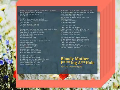 Inconsolata & Merriweather flowers song lyrics inconsolata merriweather fonts
