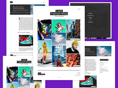 Lupe photography blog fashion blog web design wordpress development wordpress theme wordpress design