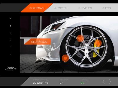 DailyUI #034 - Car interface car ui orange technology dark black interface car car interface dailyui 034 034 dailyui daily ui