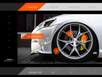 DailyUI #034 - Car interface