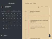 Daily Ui 038 Calendar