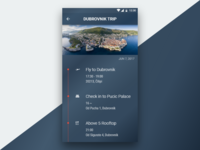 Daily UI #079 Itinerary