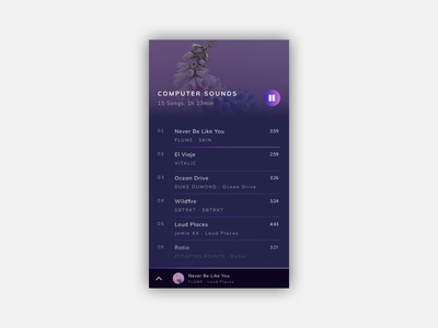 Music app - 02
