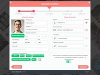 Profile Register Step2