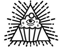 The All See-ing Cupcake
