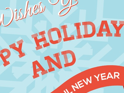 Holiday card design v2 dribbble