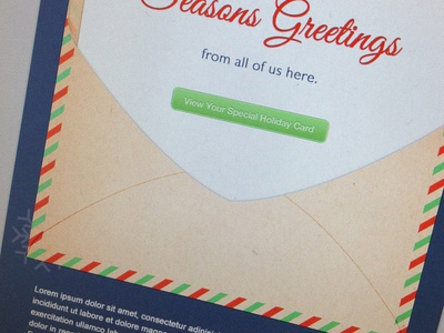 Corporate Holiday Card (Version 2.5)