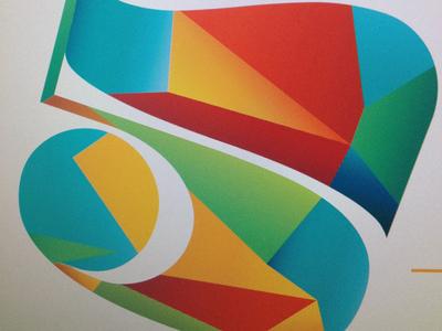Gradient Five gradient five typography number colorful