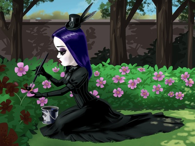 Goth Gardener
