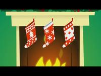 3 Christmas Socks