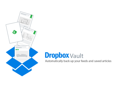 Feedly and Dropbox