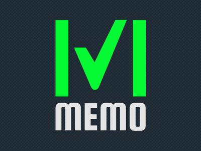 Memo Logo logo icon joni memo app
