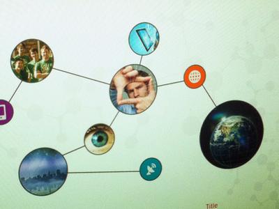DNA inspired web design web design dna home page joni hamanie ui