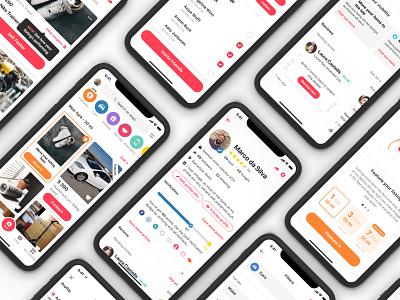 letgo app design interface marketplace ui