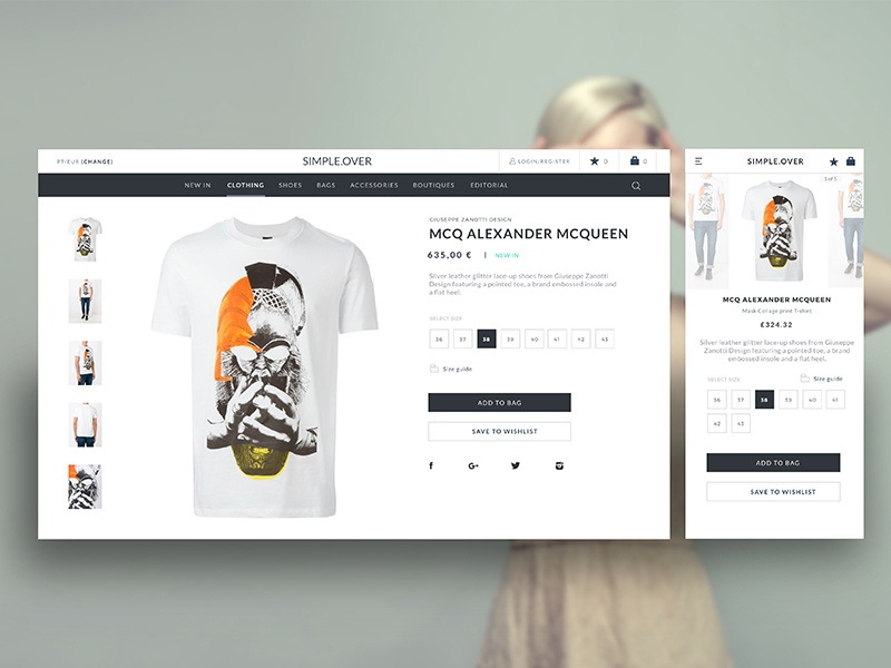 Product Detail Page, Simple Project By Marco Da Silva