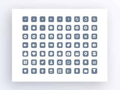 Icons Collection first look iconography icons shop market feed appdesign ux ui design app iphonex