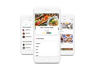 Food Delivery Recommendations