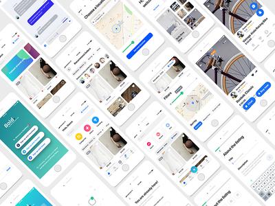 Bold Uikit Ecommerce iphonex app design appdesign feed market shop digital ux inteface kits