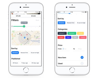 Filters iphonex ios11 interface user filters app