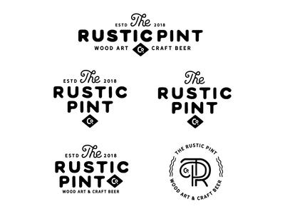 Rustic Pint Logo Exploration