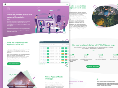 Website Redesign illustration color ui website design web