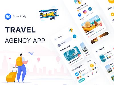 Travel Agency App ux research case study ux design case study ux ux case study ui case study travel ux travel case study travel app case study travel app