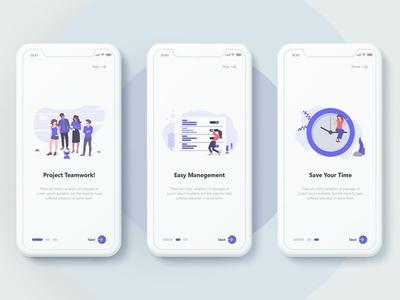 App Splash Screen Concept